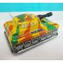 Juguete Antiguo De Lata - Tanque De Guerra Toy Hero - Japon