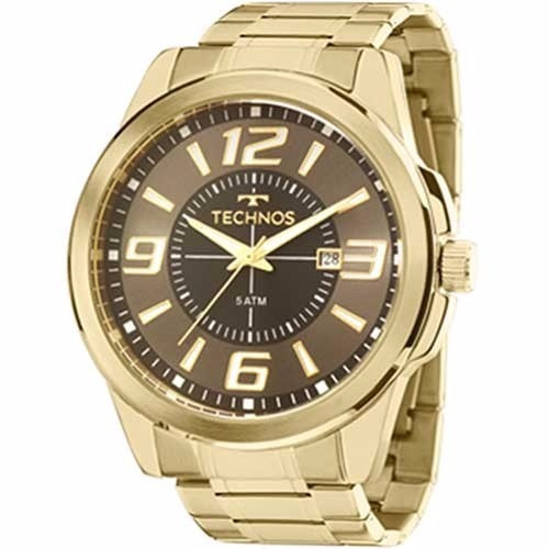 822c21b676f Relógio Technos Masculino Dourado Performer - 2115laa 4c - R  249