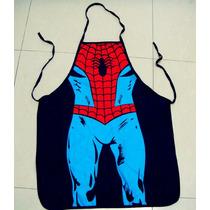 Mandil De Súper Chef, Diseño Spider Man, Hombre Araña.