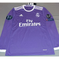 Promoción: Jersey Real Madrid 16-17 Manga Larga Envío Gratis
