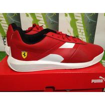 Tenis Casuales Puma Escuderia Ferrari Podio 100% Originales