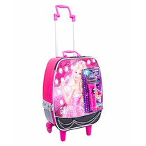 Mala Mochila Escolar Barbie Rock N