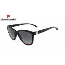 Oculos De Sol Pierre Cardin P7 4095 54 B369 Acetato Feminino