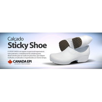 Sapato Sticky Shoe Segurança E Conforto Em Seus Pés