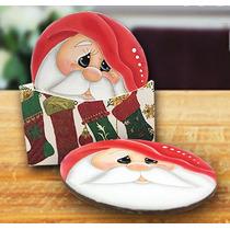 Portavasos Navideño De Santa Claus - Adornos Navideños