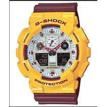 Relogio Casio G-shock Ga100cs-9a Ga-100mc Ga100 Ga-201