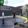Capa Lona Proteção Piscina 5,5x3,5 Mola Tração Em Curitiba
