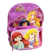 Maleta Disney Princess Con Almuerzo