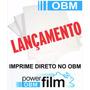 Obm Power Film A3 Transfer Tecido Escuro Pcte C/ 20 Folhas