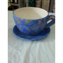 20 Juegos De Tazas Con Platos En Ceramica Para Pintar