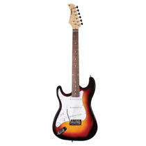 Guitarra Strato Canhota St111 Sunburst Waldman Frete Grátis