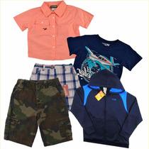 Niños T 10 Y 11 Pantalones Playeras Camisas... Envio Gratis