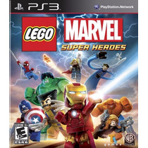 Lego Marvel Super Heroes | Ps3 | Nuevo Y Sellado