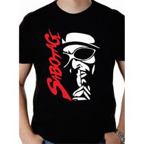 Sabotage Rap É Compromisso Camisa Camiseta Hiphop Racionais