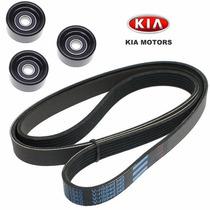Kit Correia Alternador Acess. Kia Carens 2.0 16v