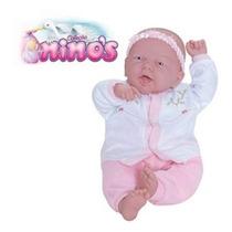 Boneca Ninos Branca Sem Dente - Cotiplás