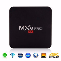 Tv Box Mqx Pro 4k Android Smart Tv Quad Core Hdmi Ultra Hd