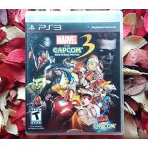 Marvel Vs Capcom 3 Fate Of Two Worlds - Midia Física - Ps3