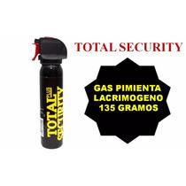 Gas Pimienta Lacrimogeno 135 Grms. Defensa Personal Spray