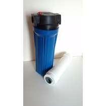 Filtro Reducción De Sarro Cartucho Resina Ablandador De Agua