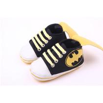 Zapatos Para Niños Bebé Batman - 0 A 18 Meses