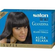 Promoção Alisa & Relaxa Para Cabelos Grossos Salon Line