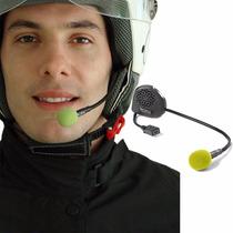 Intercomunicador Bluetooth Moto Capacete Fone Gps Unitário