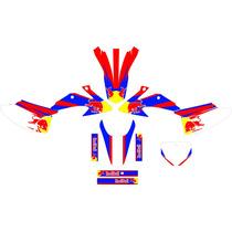 Kit Adesivo 3m Completo Red Bull Adavan Crf 230 2008 - 2014