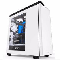 Gabinete Nzxt H440 Gamer Mid Tower Atx 4 Fans White / Black