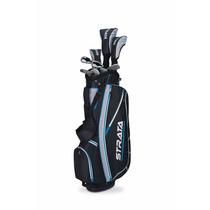 Set 11 Palos De Golf Callaway Strata Con Bolsa Maleta Mujer