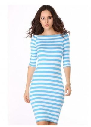 880cd43dd Vestidos de fiesta cortos con rayas – Vestidos baratos