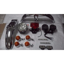 Kit Restauração Ml 125 79 A 82 Honda Completo