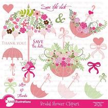 Kit Imprimible Flores Shabby Chic Imagenes Png Clipart [196]