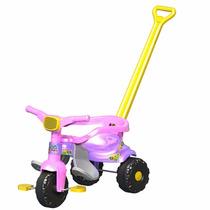 Motoquinha Infantil Triciclo Festa Rosa Magic Toys
