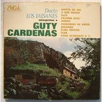 Dueto Los Faisanes Int. Guty Cardenas 1 Disco Lp Vinilo