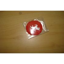 Emblema Ferrari Vermelho Tamanho 55mm Para Rpdas Esportivas