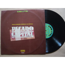 Pecado Capital- Lp Trilha Sonora Nacional- 1975- Original!