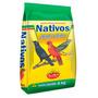 Ração Nativos Para Pássaros Sabiá Pássaro-preto Azulão 5 Kg