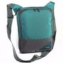 Morral Bolso Porta Tablet Samsonite Color Turquesa/gris Orig