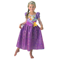 Disfraz Princess Rapunzel # Small 3-4 Años Zona Devoto