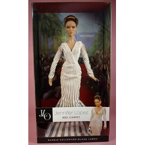 Barbie Muñeca Jennifer Lopez World Tour Red Carpet Nueva Jlo