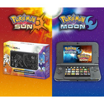 New 3dsxl Especial + Pokemon Sun And Moon + 48 Jogos Pokemon