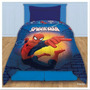Acolchado Infantil Plaza 1 Y 1/2 Spiderman Hombre Araña
