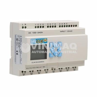 b62b834997b Controlador Lógico Programável Clp Weg - Clic02 20hr-d 3rd - R  899 ...