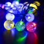 Luces Led Solar Para Fiestas, Decoración De Jardín, Navidad.