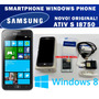 Smartphone Samsung Ativ S Gt-i8750 Windows 8 - Novo Original