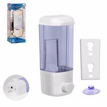 Porta Sabonete Liquido De Parede Em Acrílico Transparente