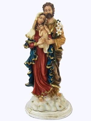 34e79ed23a1 Imagem Sagrada Família 40cm Em Resina - R  180