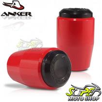 Slider Dianteiro Anker Cbr 1000 Rr 08/11 - Vermelho - Honda