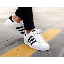 Tênis Adidas Uperstar Oundation Homem & Mulher Fret Gratis